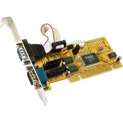 Exsys I/O-Karte 2x ser PCI EX-41052