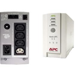 APC USV OFF   650VA BK650EI Back-UPS CS