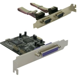 Delock I/O Card 2 seriell / 1x parallel