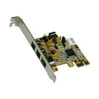 Exsys I/O-Karte FireWire 1394B PCI-E mit 3+1