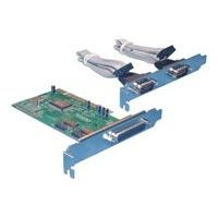 Delock PCI Karte - 1x Parallel & 2x Seriell