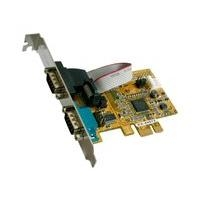 Exsys I/O-Karte 2x ser RS232 PCIE EX-44072*