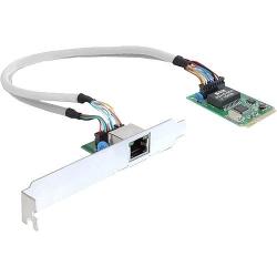 Delock MiniPCIe I/O PCIe full size 1 x Giga