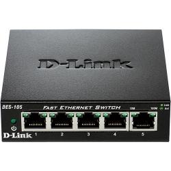 DLINK DES-105/E 5-Port Layer2 Fast Ethernet Switch