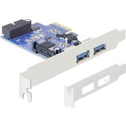 DeLock PCI Express Karte > 2 x extern USB