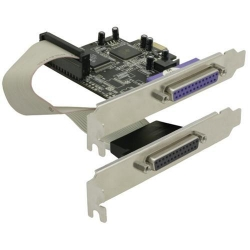 Delock PCIE Karte > 2 x Parallel