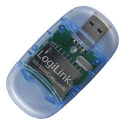 LogiLink Cardreader USB 2.0 Stick ex SDMMC