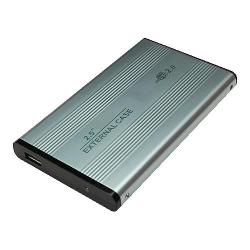 """LogiLink Gehäuse 2,5"""" IDE USB 2.0 Alu"""