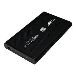 """LogiLink Gehäuse 2,5"""" S-ATA USB 2.0 Alu"""