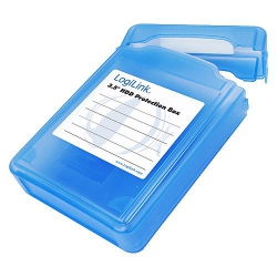LogiLink Festplatten Schutz-Box 3,5 HDDs