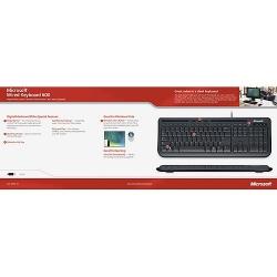 Microsoft Wired Keyboard 600 USB s/w DE