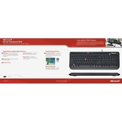 Microsoft Wired Keyboard 600 USB s/w DE