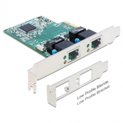 Delock PCI Express Karte > 2 x Gigabit LAN