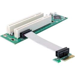 Delock PCIe-Riser-Karte>2 x PCI 32bit/5V