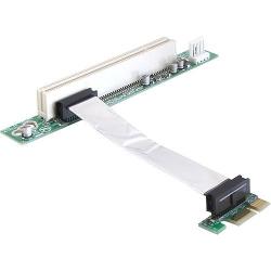Delock PCIe-Riser-Karte x1>PCI 32-Bit 9cm