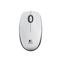 Logitech Mouse B100 Optical USB white