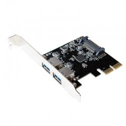 LogiLink USB 3.1 PCI-Express Card 2-port