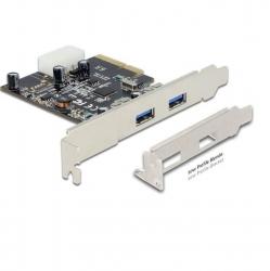 DeLock PCI Express x4 Card > 2 x external SuperSpeed USB 10 Gbps (USB 3.1, Gen 2)