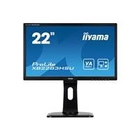 "Iiyama 22"" XB2283HSU-B1DP,VGA DVI DP USB Speaker Pivot Höhe"