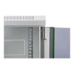 DIGITUS 9HE Wandgehäuse, 505,05x600x450 mm, Grau