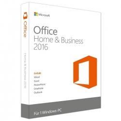Microsoft Office Home & Business 2016 DE