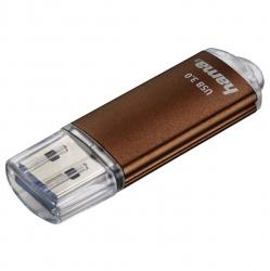 """HAMA FlashPen """"Laeta"""", USB 3.0, 256 GB, 40MB/s, Braun"""