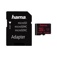 HAMA microSDHC 32GB UHS Speed Class 3 UHS-I 80MB/s + Adapter