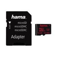 HAMA microSDHC 16GB UHS Spd Cla 3 UHS-I 80MB/s +Adapter/Mobi