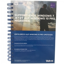 TAROX Hardcover Spiralblock A5 Microsoft