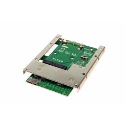 """Exsys USB 3.1 (Gen1) zu mSATA Adapter inkl. PCIe und 2.5""""Büg"""