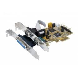 Exsys I/O-Karte EX-44160 2S/1P PCI-Express