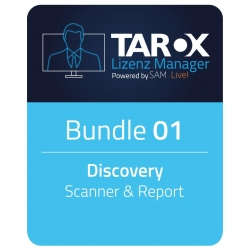 TAROX Lizenz Manager Bundle 1 Disc/Scanner 42 Monate