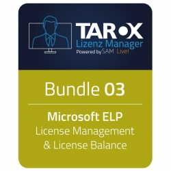 TAROX Lizenz Manager Bundle 3 ELP/Lic/Bal  42 Monate
