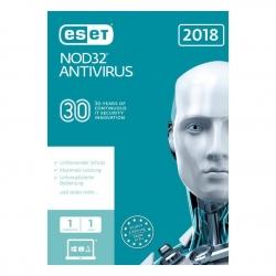 ESET NOD32 Antivirus 2018 Edition 1U 1Y (FFP)