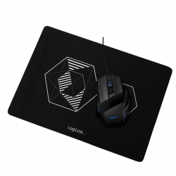 LogiLink Gaming combo set, Mouse + Mousepad
