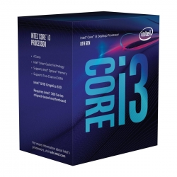 Intel CPU i3 8100  BOX   6MB 3,6GHZ *Coffee Lake*