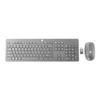 HP Slim Tastatur und Maus Set drahtlos Deutschland