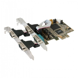 Exsys I/O-Karte EX-44064 4S Seriell RS232 Oxford-chip LP