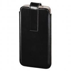 """HAMA Smartphone-Sleeve """"Slide"""", Größe XXL, Schwarz"""
