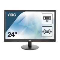 "AOC 23.6"" E2470SWDA LED-Display schwarz - VGA,DVI"