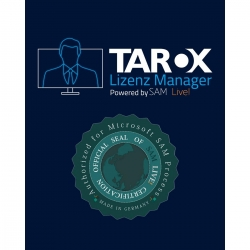 TAROX Lizenz Manager SD Starter P. #    1- 50 Devices