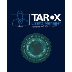 TAROX Lizenz Manager SD Starter P. #   51-100 Devices