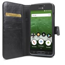 Doro Wallet Case schwarz für 8035