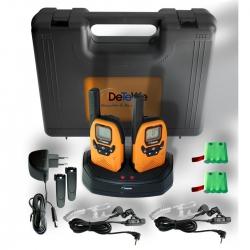 DeTeWe Outdoor 8000 Duo Case PMR-Funkgeräte