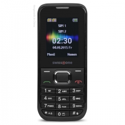 Swisstone SC 230 GSM Mobiltelefon schwarz