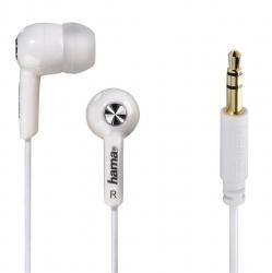 "HAMA In-Ear-Stereo-Ohrhörer ""Basic4Music"", Weiß"