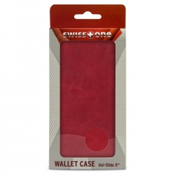 Swisstone Wallet Case Coral Red