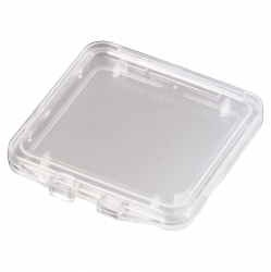 "HAMA Speicherkarten-Box ""SD Slim Box"", Transparent"