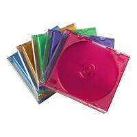 HAMA CD-Leerhülle Slim, 25er-Pack, Farbig
