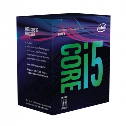 Intel CPU i5-8600  Box  9MB 6/6 3,1GHZ *Coffee Lake*